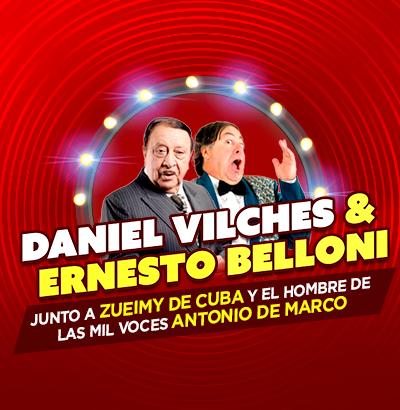 Daniel Vilches y Ernesto Belloni