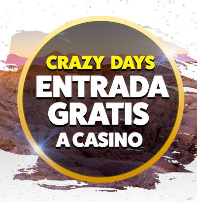 Crazy Days Viernes 31 Mayo