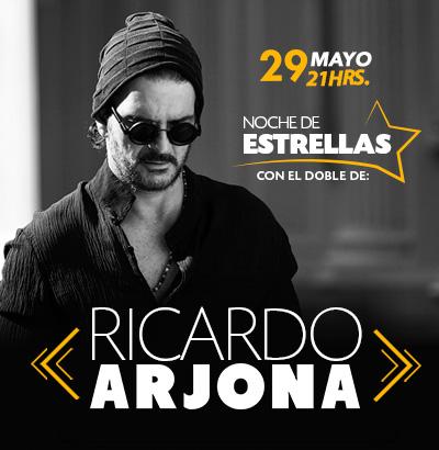 Noche de Estrellas con el doble de Ricardo Arjona